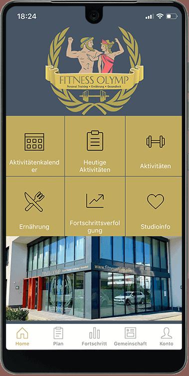 Fitness Olymp App